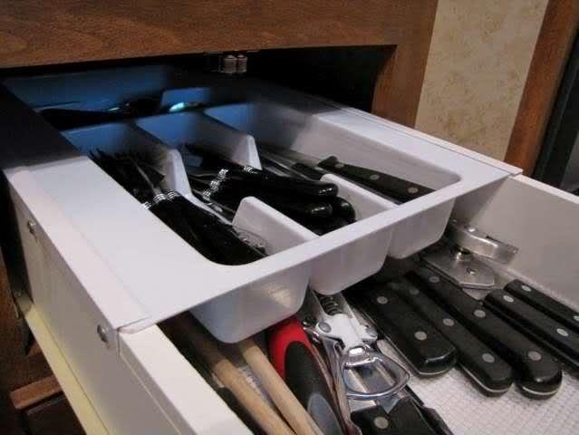 DIY Sliding drawer mod.