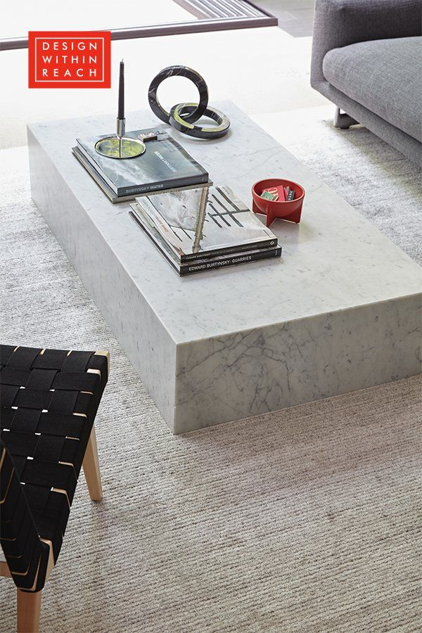 Plinth Coffee Table Design Within Reach In 2020 Extra Large Coffee Table Large Coffee Tables Coffee Table Design