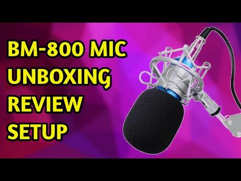 BM-800 Condenser mic unboxing and setup 2017 without phantam power. it is the best microphone for youtubers. BM-800 is cheap and best mic for youtube starters. but the microphone needs phantom power or sound cord. phantom power is very costly but using sound cord we can connect mic to pc and it will work and i have shown it in the video. want to buy them Buy BM-800(1500rs) : http://amzn.to/2sI8FN7 Buy Sound card just(300rs): http://amzn.to/2sdgoiI Buy mic stand: http://amzn.to/2sIa1r5 Buy…