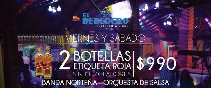 Hoy es viernes y toca ir al bebedero a bailar con la orquesta de salsa y a cantar con la banda norteña, te esperamos!!!#cuernavacadenoche