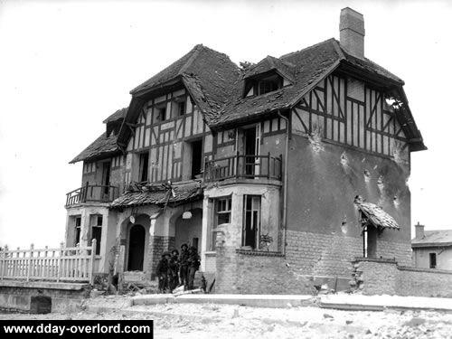 """La """"Maison des Canadiens"""", villa Denise & Roger à Bernières-sur-Mer"""