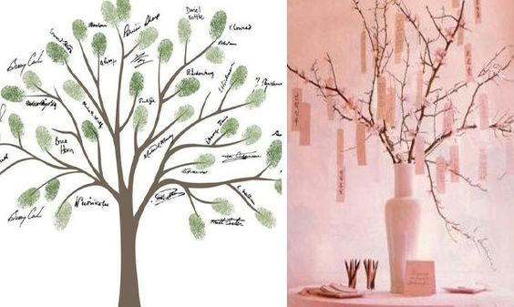 Un albero per le vostre nozze
