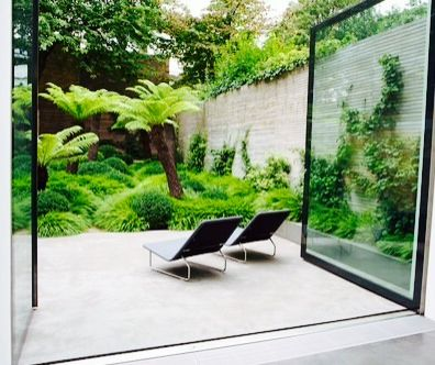 This is heaven ... Modern tropical patio