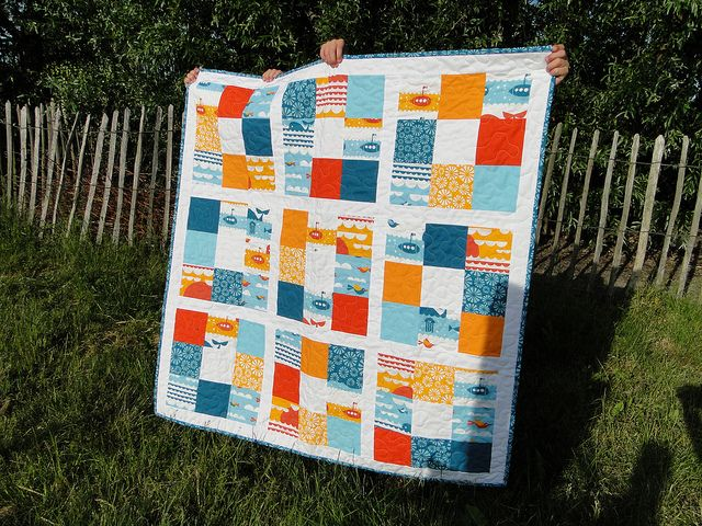 'Marine' by Dan Stiles for Birch fabrics