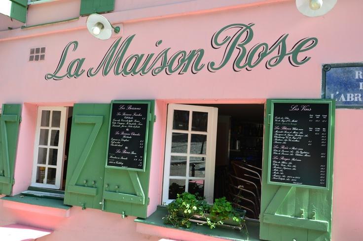 La Maison Rose; Montmartre