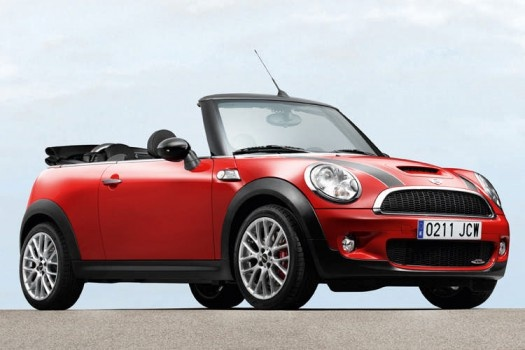 Mini in versione cabrio...ci piace!