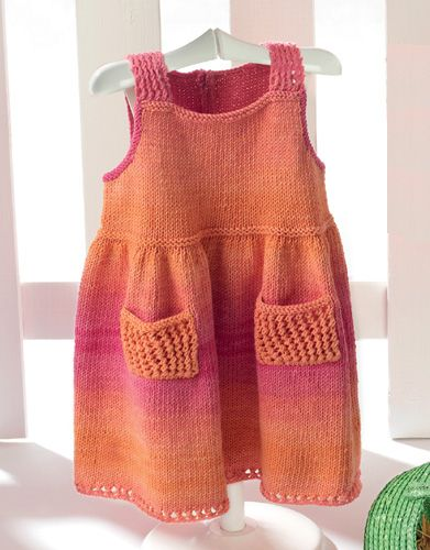 Revista bebé 56 Primavera / Verano   2: Bebé Vestido   Rosa-Naranja