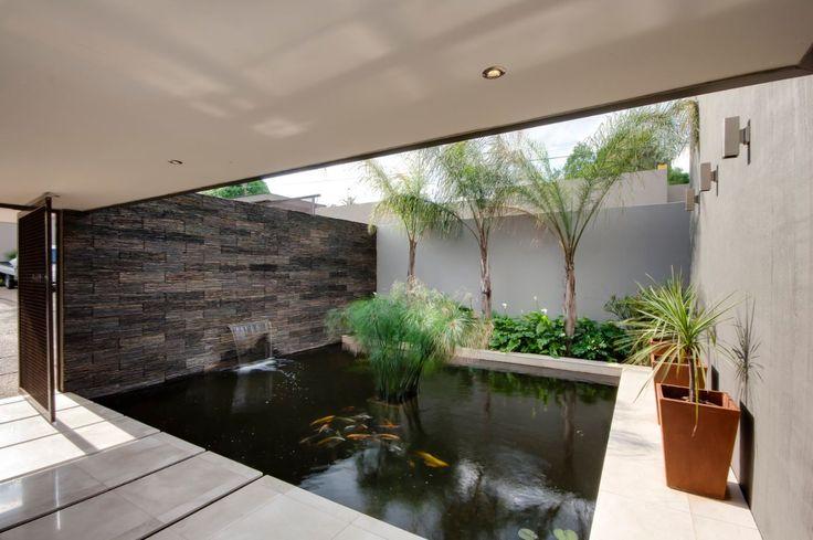 House Sed | Atrium | Nico van der Meulen Architects | M Square Lifestyle Design | #Atrium #waterfeature #Design #Luxury #Architecture