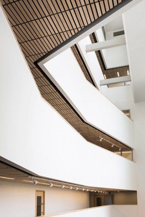 Penoyre Prasad Builds Architecture School For Portsmouth University BuildingPortsmouthProduct DesignUniversityCeilingSchoolsEnglandAmp Interior