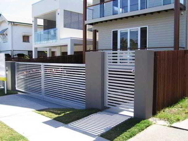 Contoh Model Pagar Rumah Terbaru
