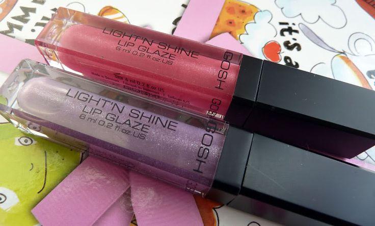 Review: Gosh Light 'n Shine Lip Glaze (07 en 08)