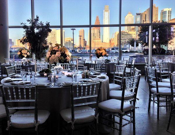 The Cira Centre Atrium at JG Domestic - Garces Catering, Jose Garces, JG Domestic, Philadelphia Skyline