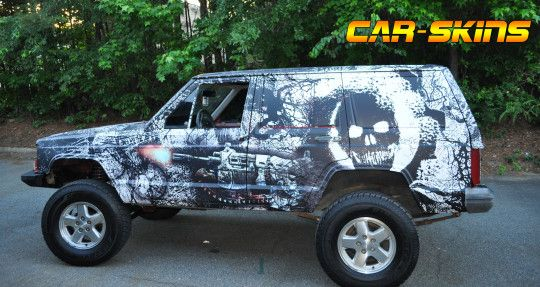 Jeep Grand Cherokee - Gears Of War Wrap