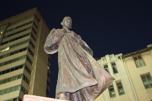Diski Dancing - Iconic statue of Mahatma Gandhi, South Africa by South African Tourism, via Flickr