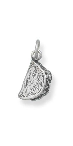 Taco Charm .925 Sterling Silver