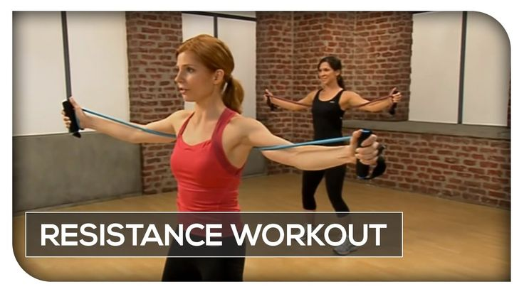 Resistance Band Workout - 45 Min Total Body