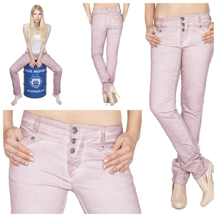 Blue monkey jeans damen rosa