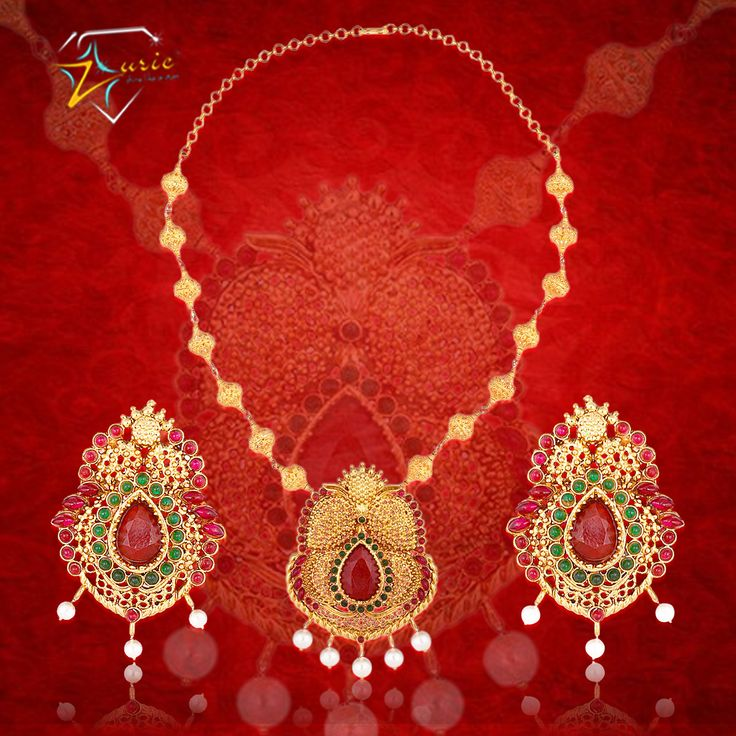 Look striking and feel beautiful in gold jewellery from ‪#‎Zurie‬, add the perfect sparkle to your ensemble just the same way as you sparkle from inside! ‪#‎gold‬ ‪#‎necklace‬ ‪#‎earring‬ ‪#‎pendantset‬ ‪#‎graceful‬ ‪#‎charming‬ #zurie