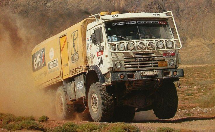 100™ KamAZ Camiones, Vehiculos