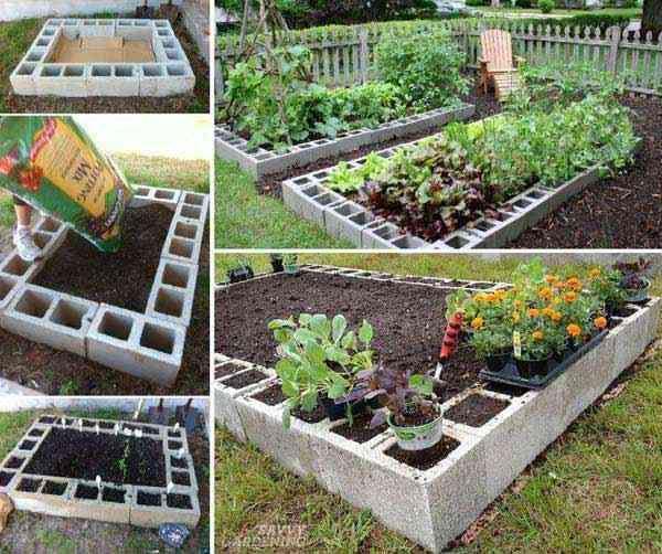 Comment faire un jardin surélevé facilement