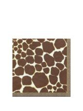 Giraffe Beverage Napkins 16ct - Cocktail Napkins - Entertaining  Serving - Categories - Party City