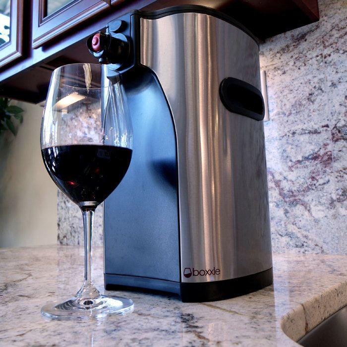 Boxed wine dispenser. It's like having a keg... For wine!