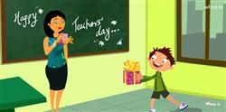 Happy Teachers Day Cartoon Wallpaper,Teachers Day 5Th September,Happy Teachers Day,Teachers Day Celebration Greetings Images And Wallpapers