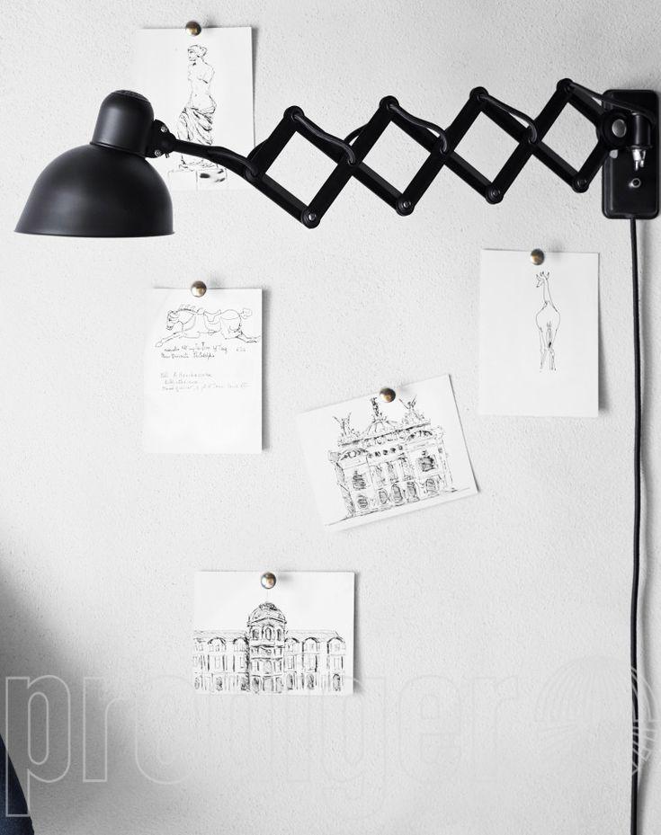KAISER idell™ 6718-W Wand-Scherenleuchte – Design Leuchten & Lampen Online Shop
