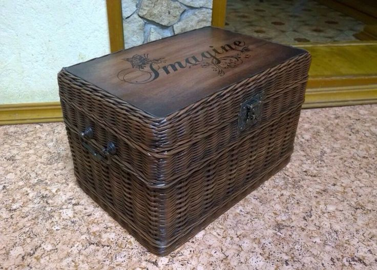 "Купить Шкатулка ""сундучок "" - шкатулка, корзины, короб, коробка, для хранения, подарок, прованс, винтаж"