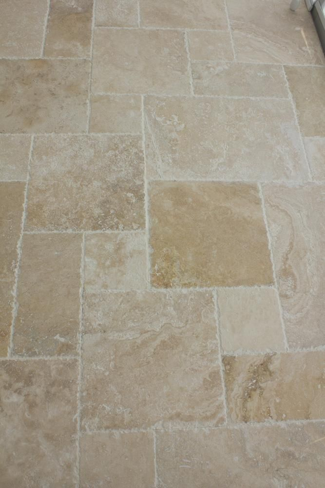 Travertine Tile Antique Pattern Sets In 2019 Dream