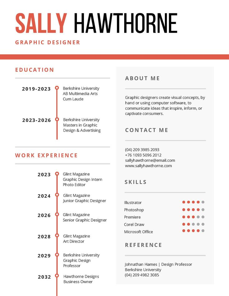 16 best Designer Resume images on Pinterest Resume templates