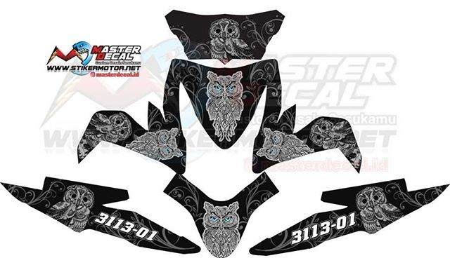 Modif Striping Honda Beat Hitam - Trend Sepeda