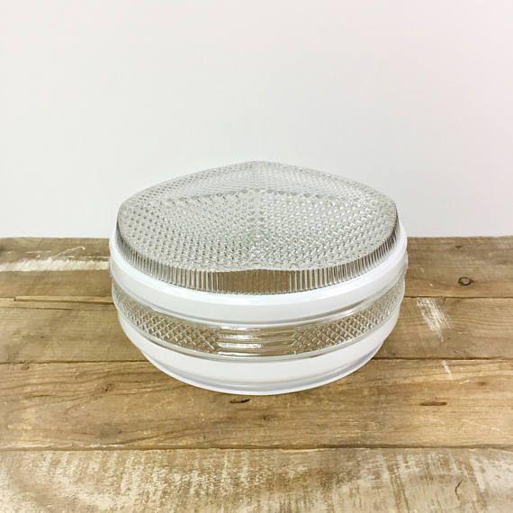 Art déco plafond ombre géométrique lait verre Globe en verre