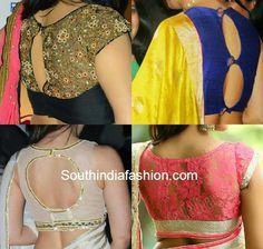 celebrity blouse designs