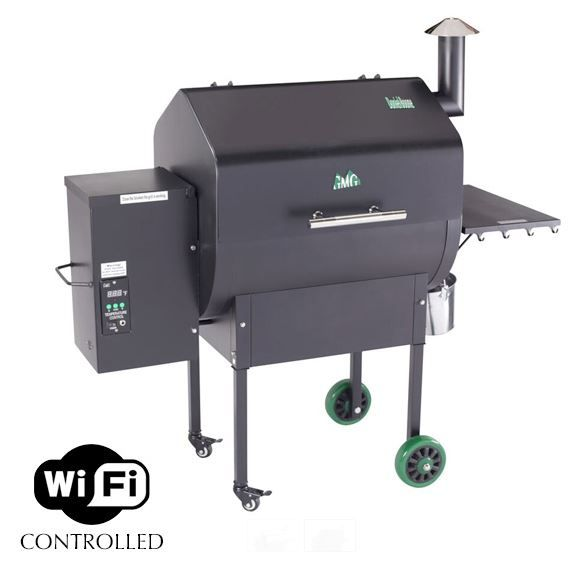 Wifi Controlled Digital Pellet Grill from Green Mountain Grills.  Smoke, Bake, Roast, and Sear all from one unit with amazing wood flavor.  Welcome to the future of BBQ.