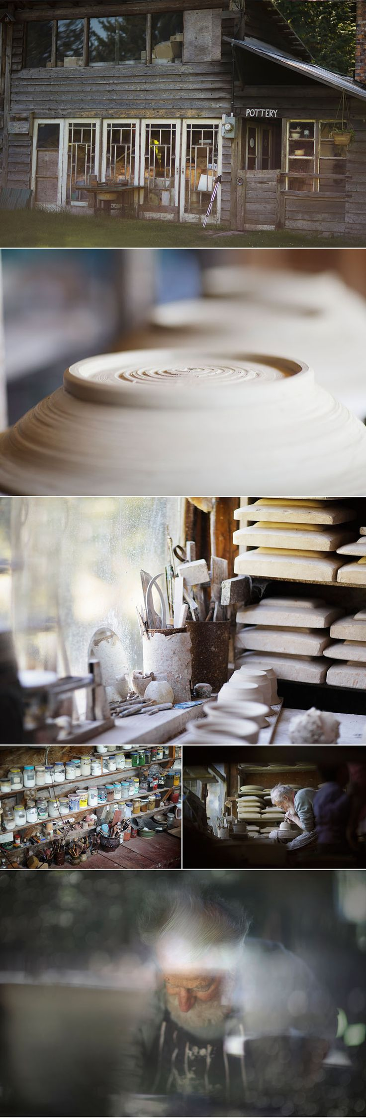 hornby island pottery Pottery Studio {notes} michellewellsphotography.ca