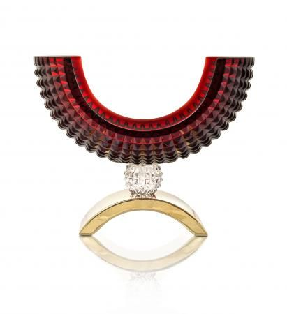 Fructiera Luxe Rosie Mario Cioni #fructiera #cristal #decoratiuni #mariocioni #cadouri