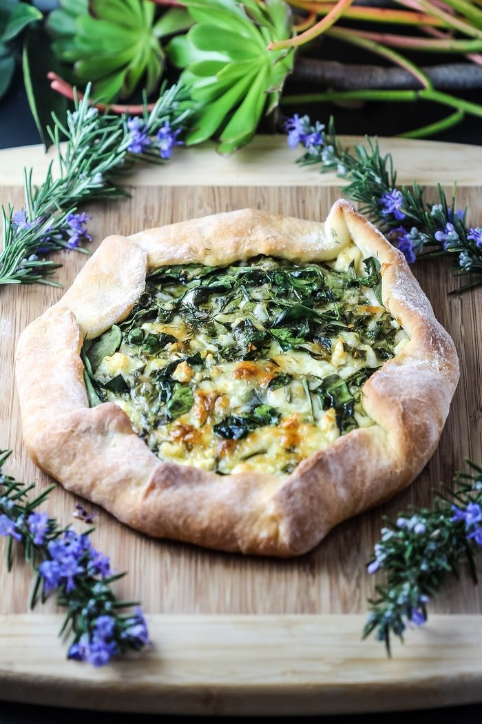 Moldovian Bread with Cheese and Spinach