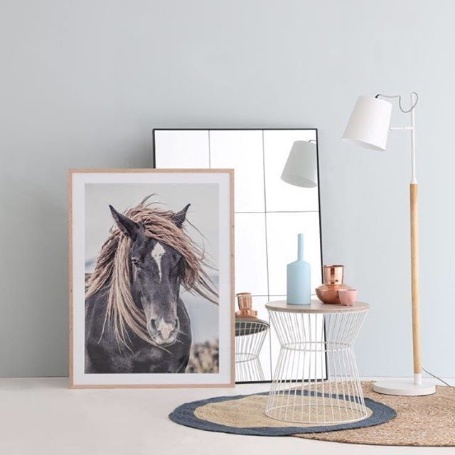 and style to your home with statement wall art and make your house a  stylish home  Lone mustang print   all homewares by OZ Design    in store    online. 1470 best Furniture   Interior Design images on Pinterest   Buffet