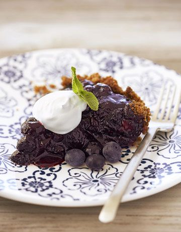 Double Blueberry Pie...plus 5 other fruit pie recipes