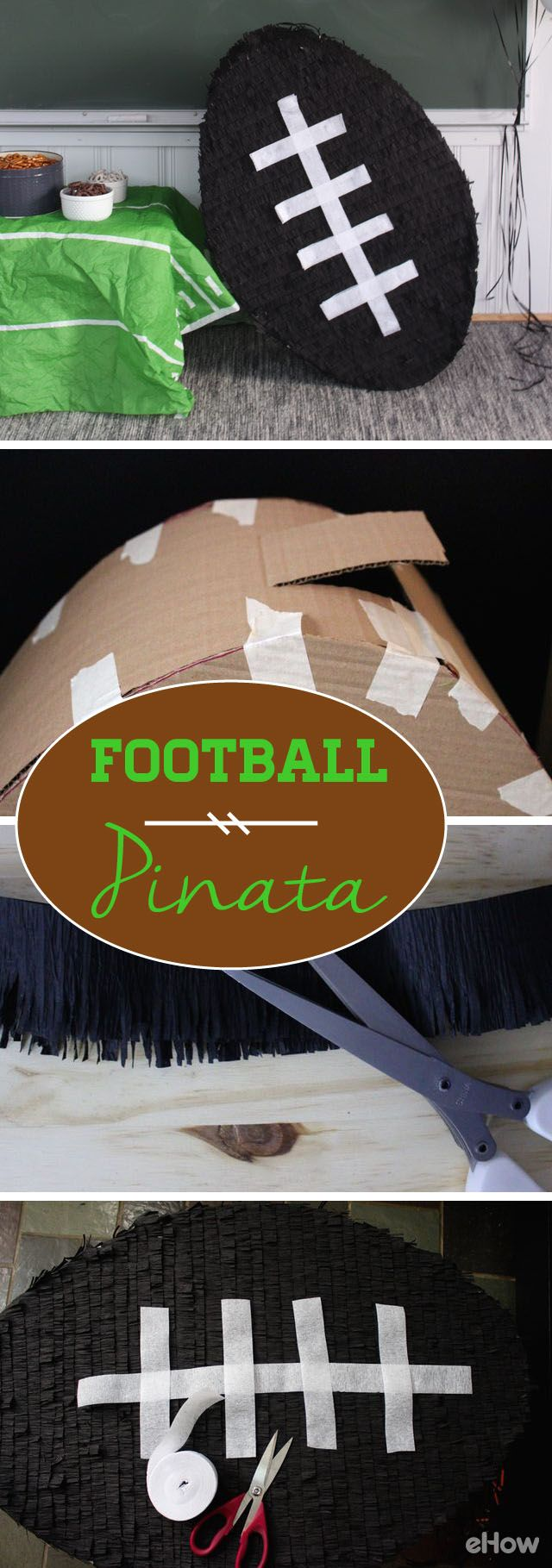 How to make your own female sonic character ehow - How Much Fun Is This Pinata Shaped As A Football Diy This Yourself For A