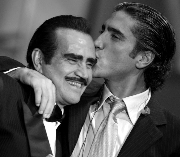 Alejandro Fernández y Vicente Fernández