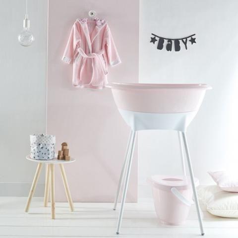 Pastel Pink Bath Robe