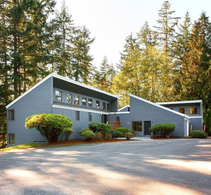 Northwest Contemporary Home Design NW Contemporary Is Like The Midcentury,  But Emphasizes Wood Inside And