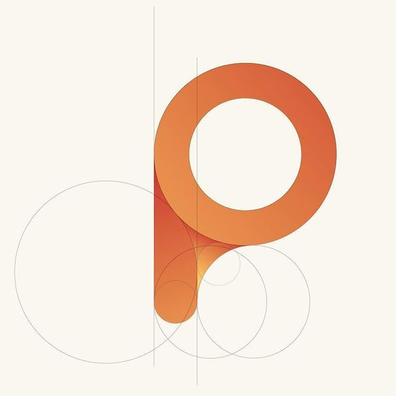 "Unused logo concept for a client. I used golden ratio circles to create a ""P"" in this concept. Thanks and enjoy! by http://ift.tt/1J5vBnR:"