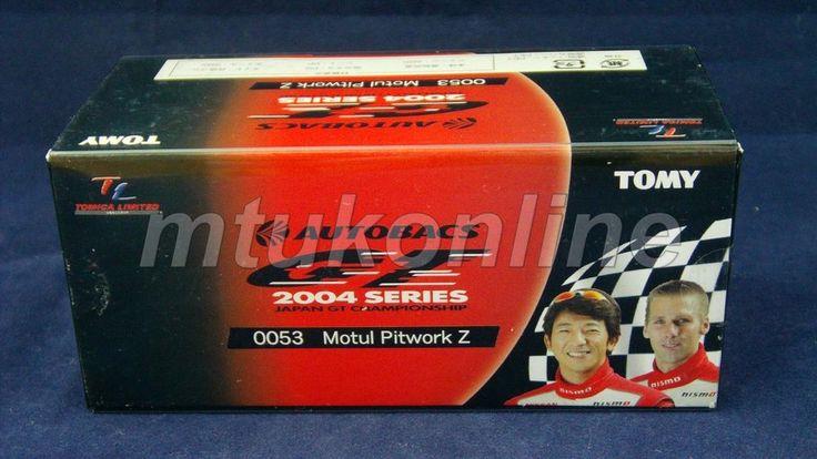 TOMICA TL 53 NISMO MOTUL PITWORK 350Z #22 | 78mm | JGTC 2004 GT500 CLASS