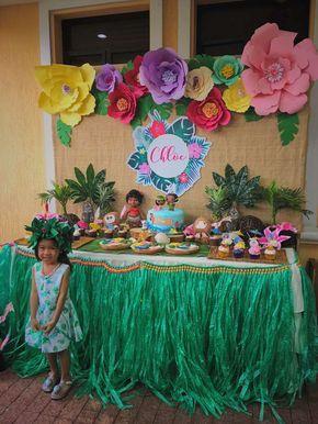 Moana Birthday Party Ideas   Photo 1 of 17