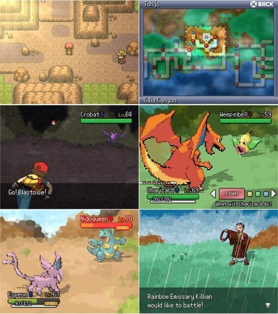 pokemon fire red download apk mod