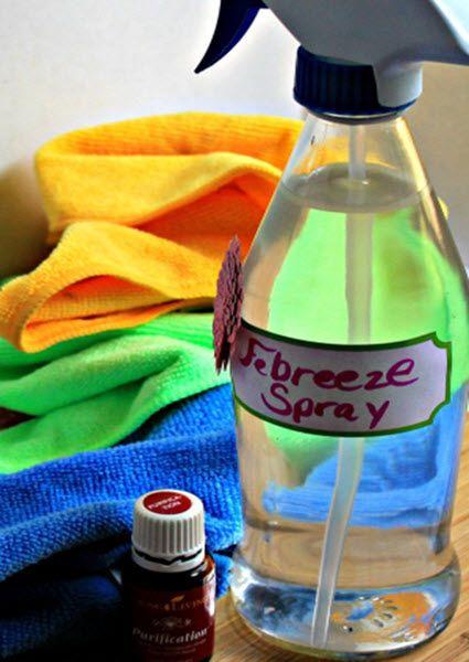 Homemade Febreze Spray | http://homestead-and-survival.com/homemade-febreze-spray/ | Homemade Febreze Spray