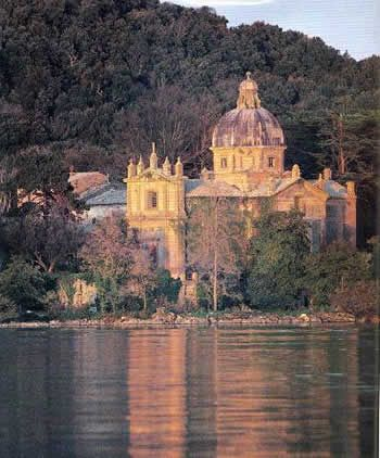 Bisentina Island on Lake #Bolsena province of Viterbo #Lazio #Italy
